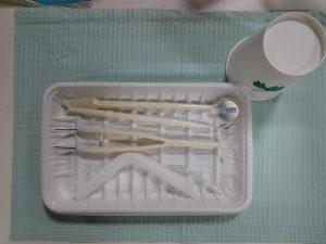器具の滅菌について